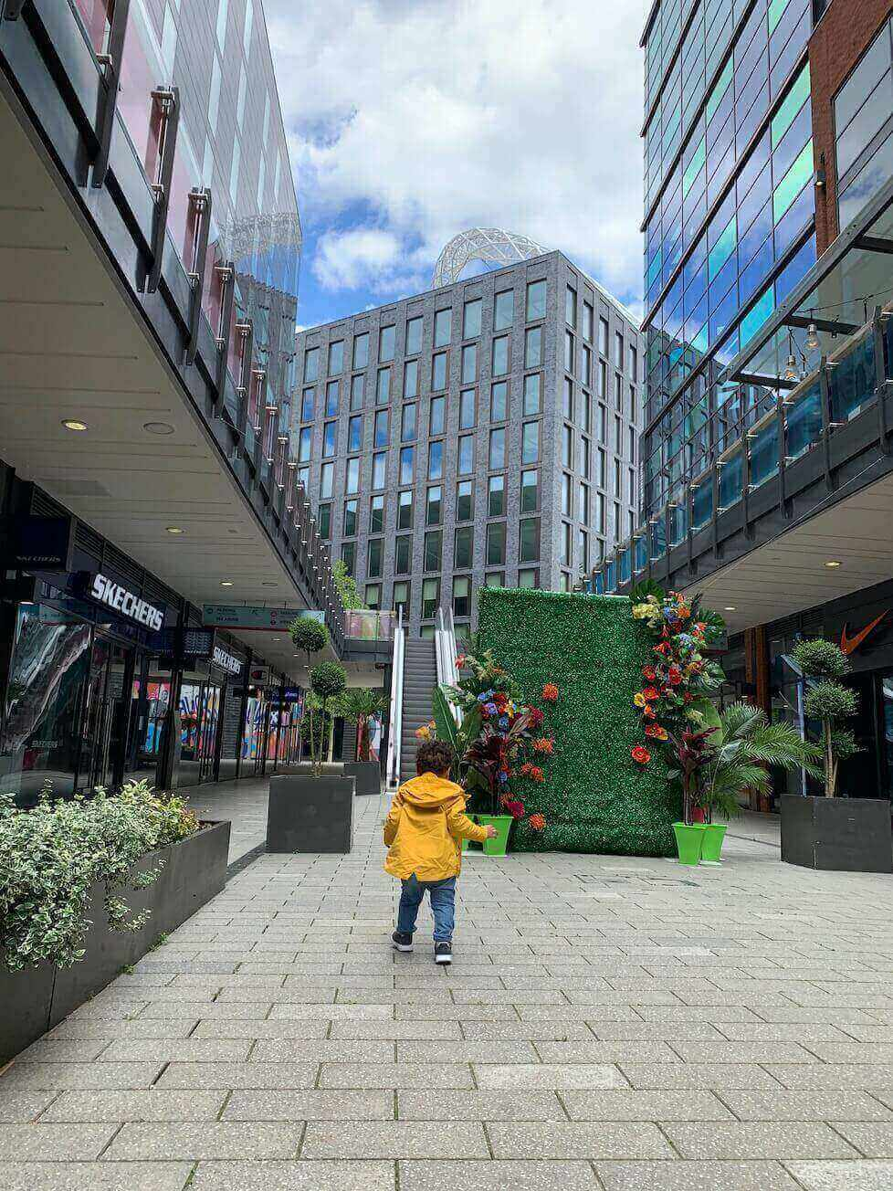 Wembley Park uses its outdoor space to appeal to fearful shoppers