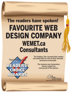 Readers Choice Award Wemet Media