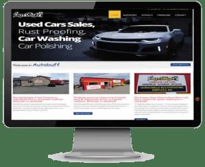Auto Buff home screen - WEMET Media