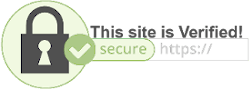 This site is secured by an SSL Certificate!