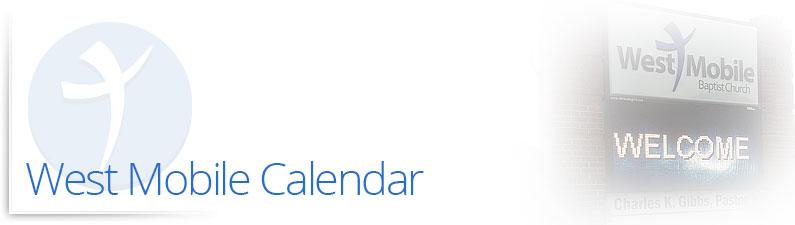 West Mobile Calendar