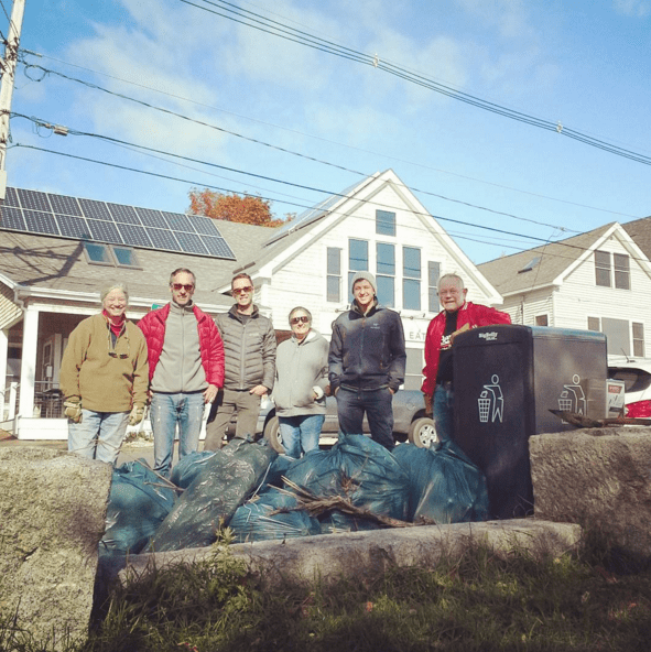 WENA Fall Cleanup Partial Group