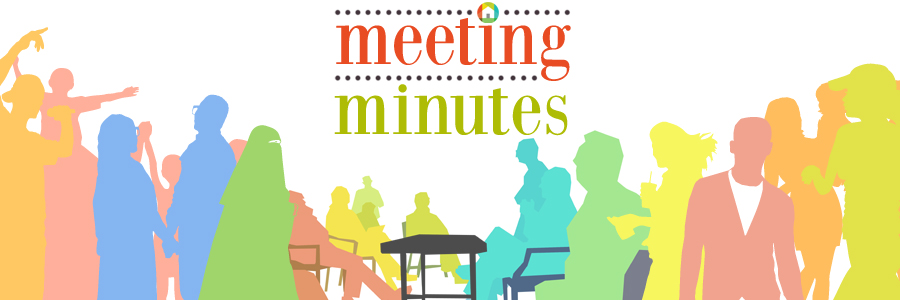 Meeting Minutes – Sep. 2015