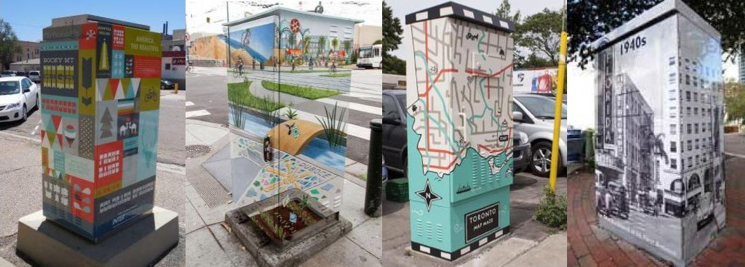 West End Traffic Box Project – Design and Paint