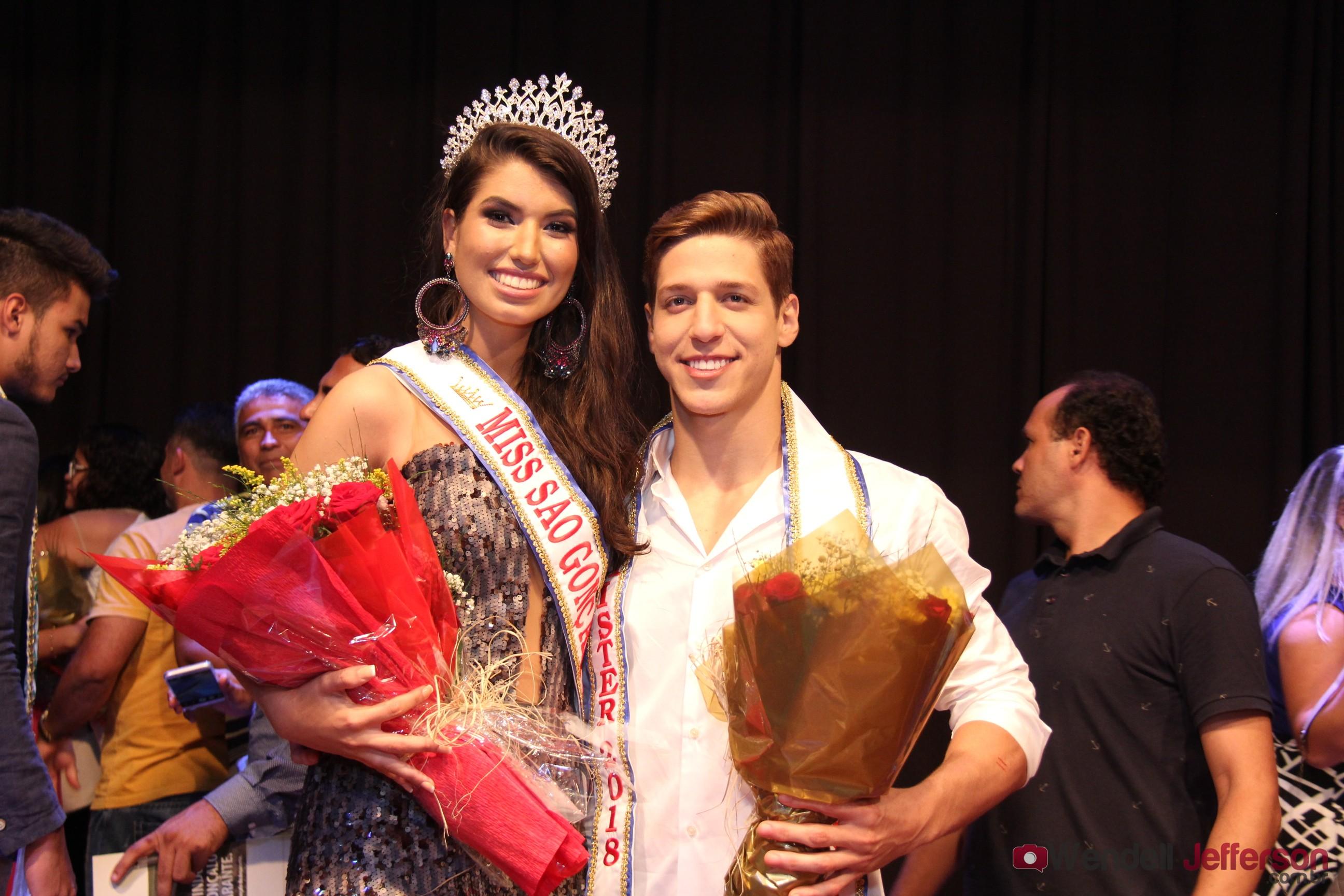 Marcelle Bezerra e Pablo Miranda foram escolhidos Miss e Mister São Gonçalo 2018