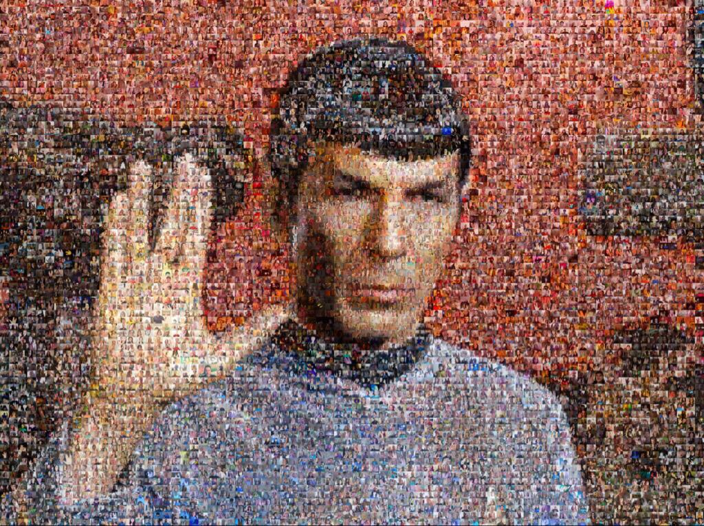 Great pic honoring Leonard Nimoy
