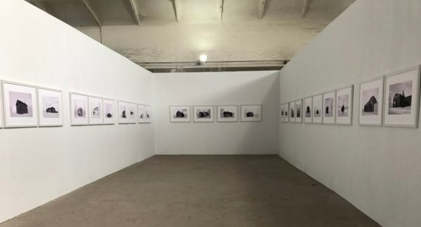 Installation of Schools for the Colored project at the 2018 Pingyao International Photography Festival