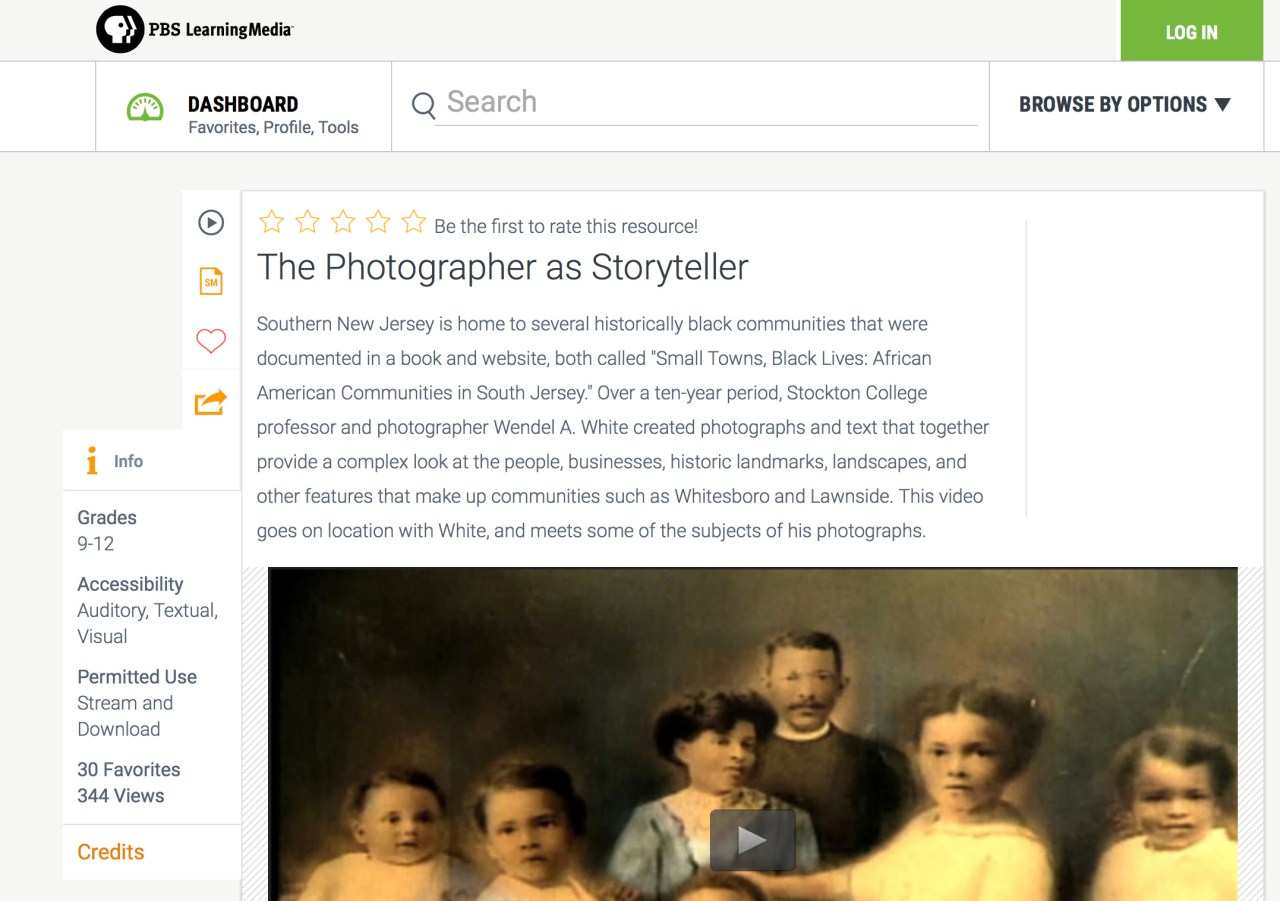 The Photographer as Storyteller