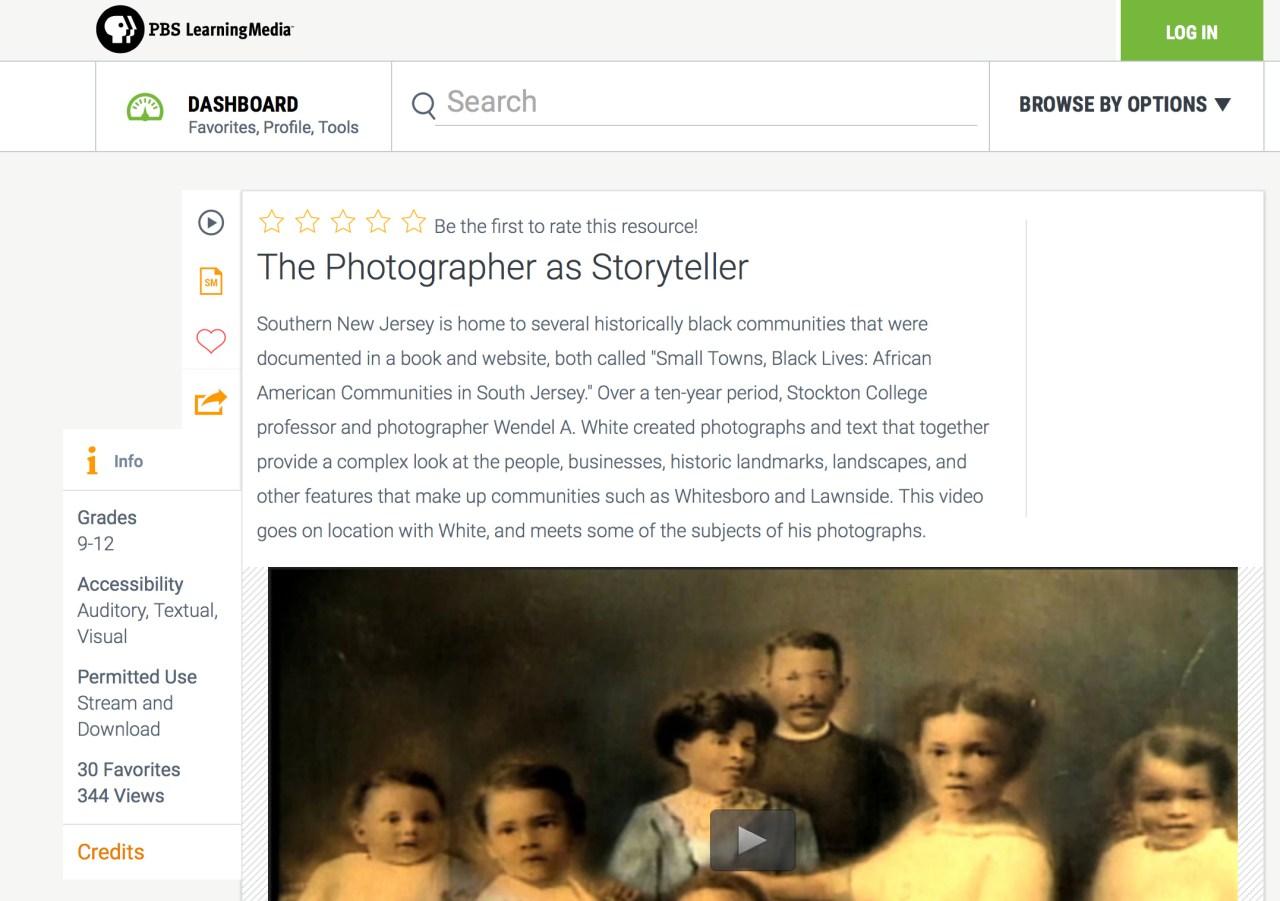 The Photographer as Storyteller