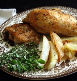 Greek Style Chicken and Potatoes