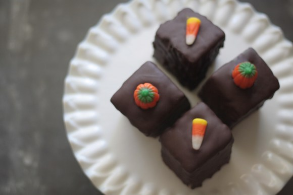 Pumpkin Bread Petit Fours Recipe