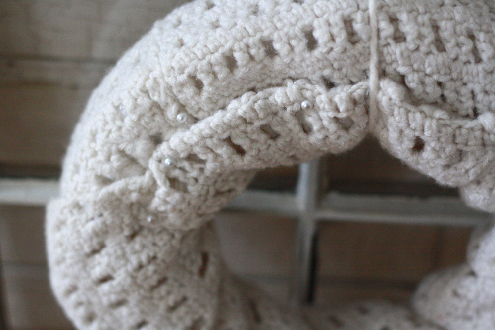 DIY Wreaths Made With Scarves