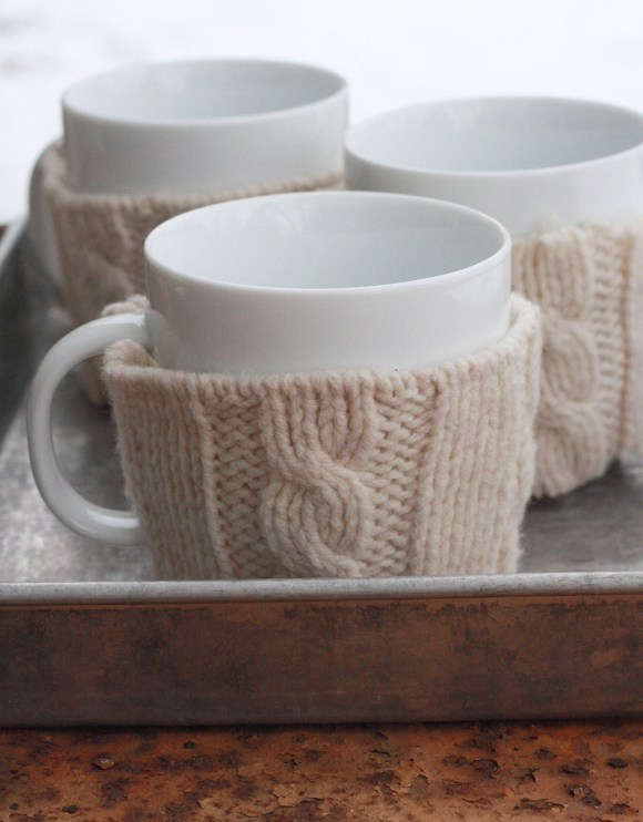DIY Sweater Mug Warmer