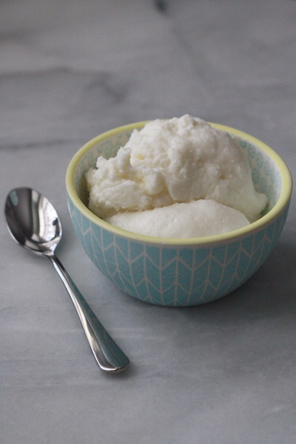 Lemon Snow Ice Cream