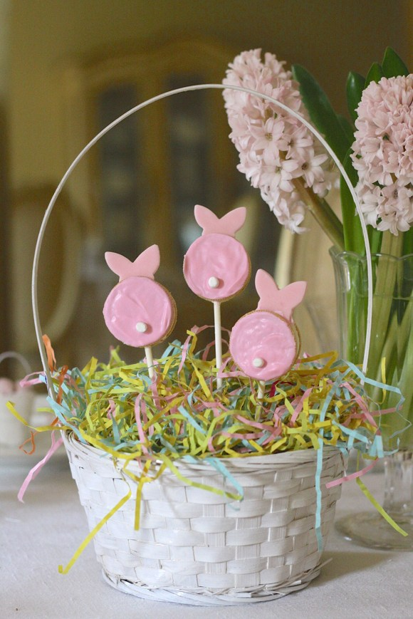 Easter Treats Bunny Pops