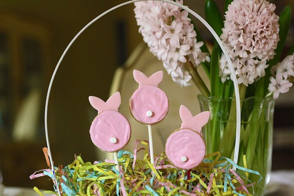 Easter Treats Bunny Pops
