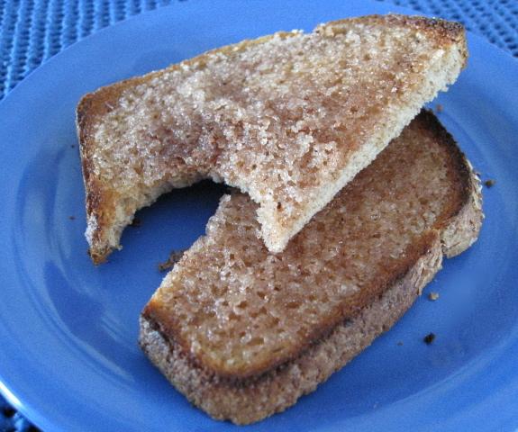 Savour the aroma and taste of Cinnamon Toast!