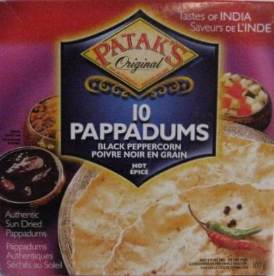 Patak's Pappadums