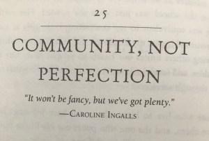 Caroline Ingalls Community After Covid