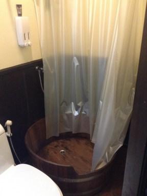 Shower in a bucket