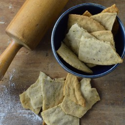 Cassava Lavosh Crackers