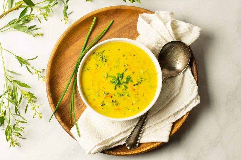 "Broccoli ""Cheese"" Soup"