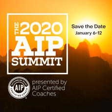 Save the date notice for the 2020 AIP Summit