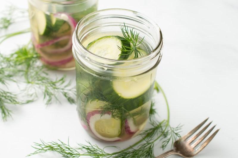Refrigerator Pickles (AIP/Paleo)
