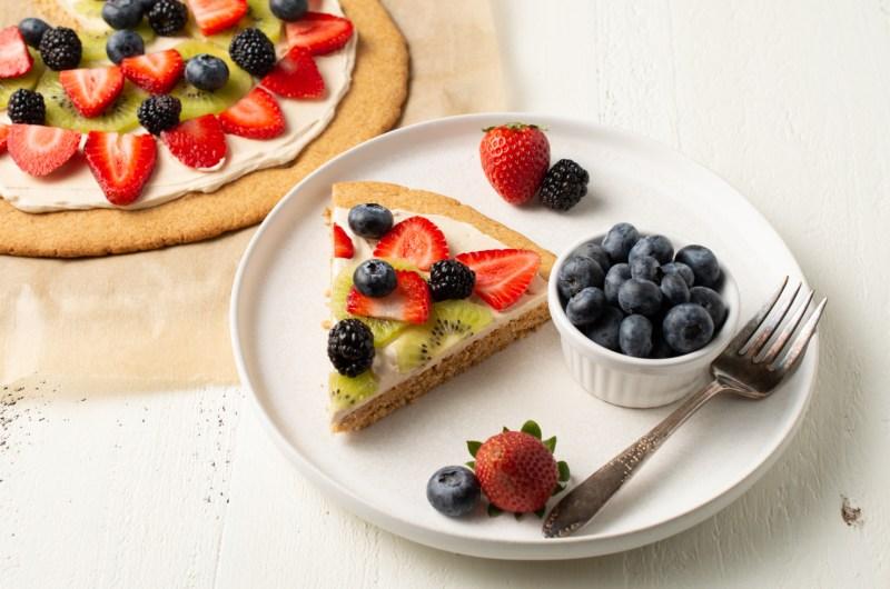 Vanilla Cookie Pizza (AIP/Paleo)