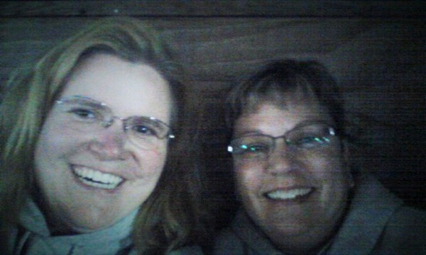 Ang and Me at Vince Gill Concert