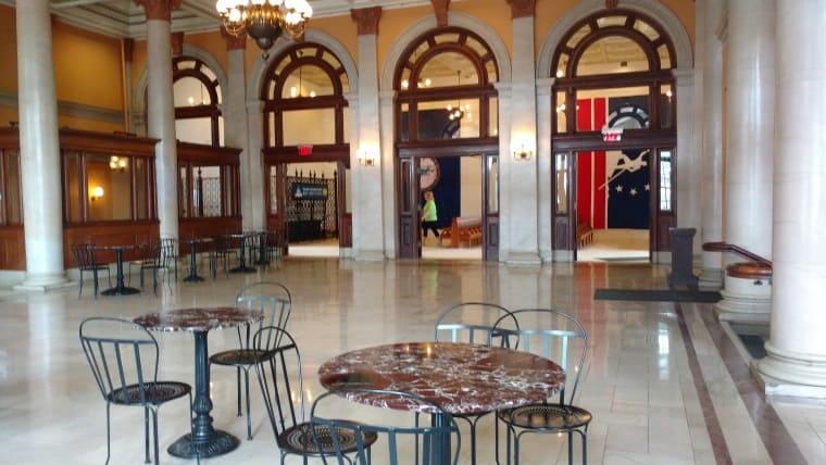 main street lobby