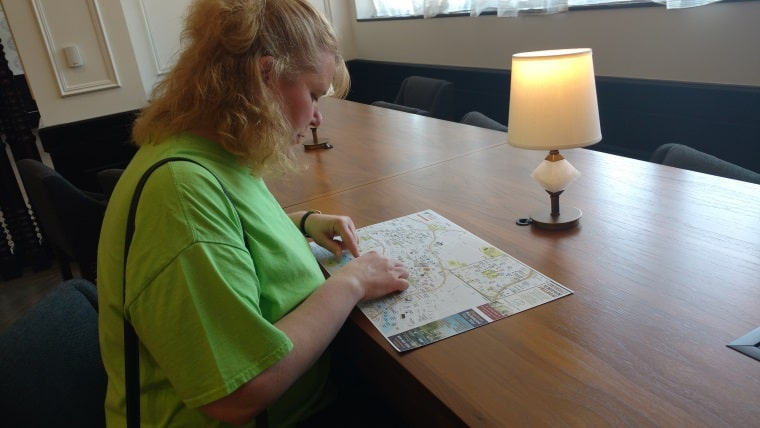 wendi and map