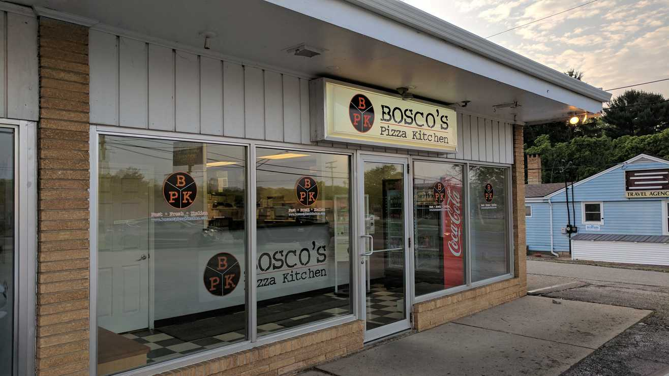 review bosco s pizza kitchen in wooster