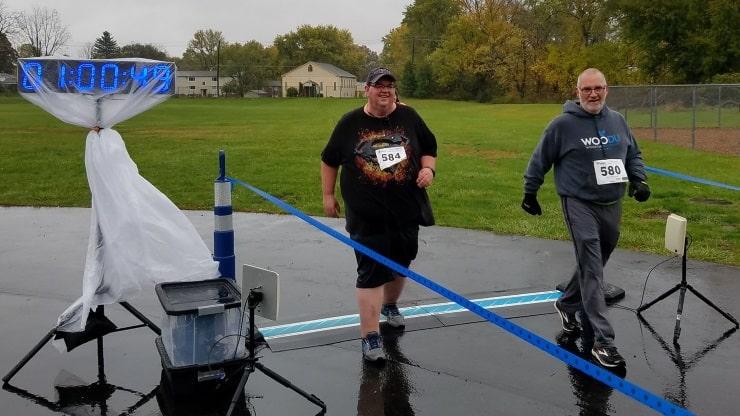 finish race