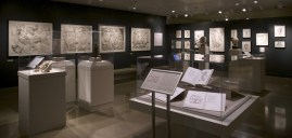 6. Wendy Artin: Rocks, Paper, Memory exhibit, Parthenon friezes