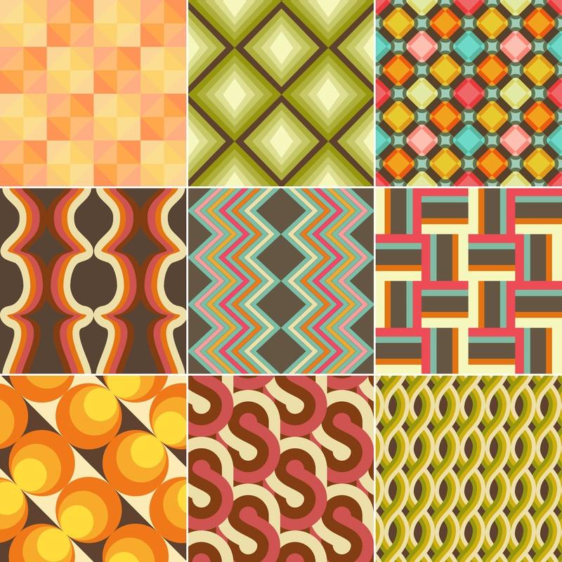 Retro geometrics.
