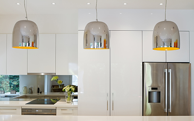 Effective lighting is crucial. Pendants like these are good for highlighting specific areas. PHOTO: iSTOCK