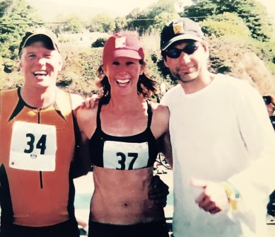 Patrick Fabian, Wendy Braun, David Duchovny Finish The Malibu Triathlon
