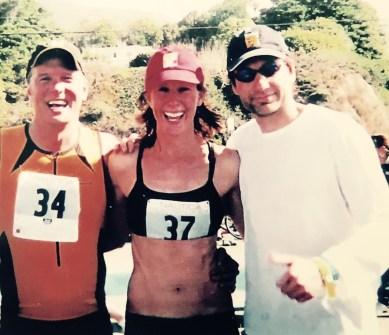 Patrick Fabian, Wendy Braun, David Duchovny Finish The Malibu Triathlon