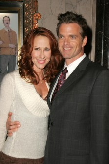 "Wendy Braun + Josh Coxx at the Opening of ""Irving Berlin's White Christmas"". Pantages Theatre,"
