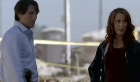Wendy Braun + Vincent Spano in Pandemic