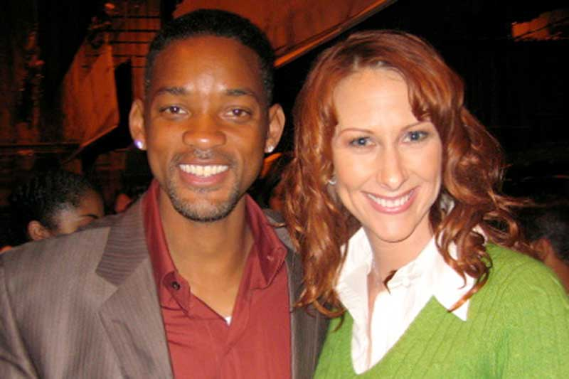 Wendy Braun and Will Smith