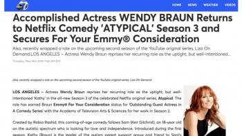 Season 3 + Emmy®  FYC
