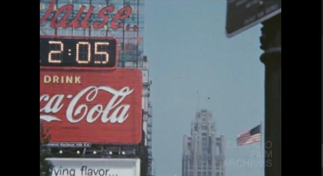 coke sign 1960