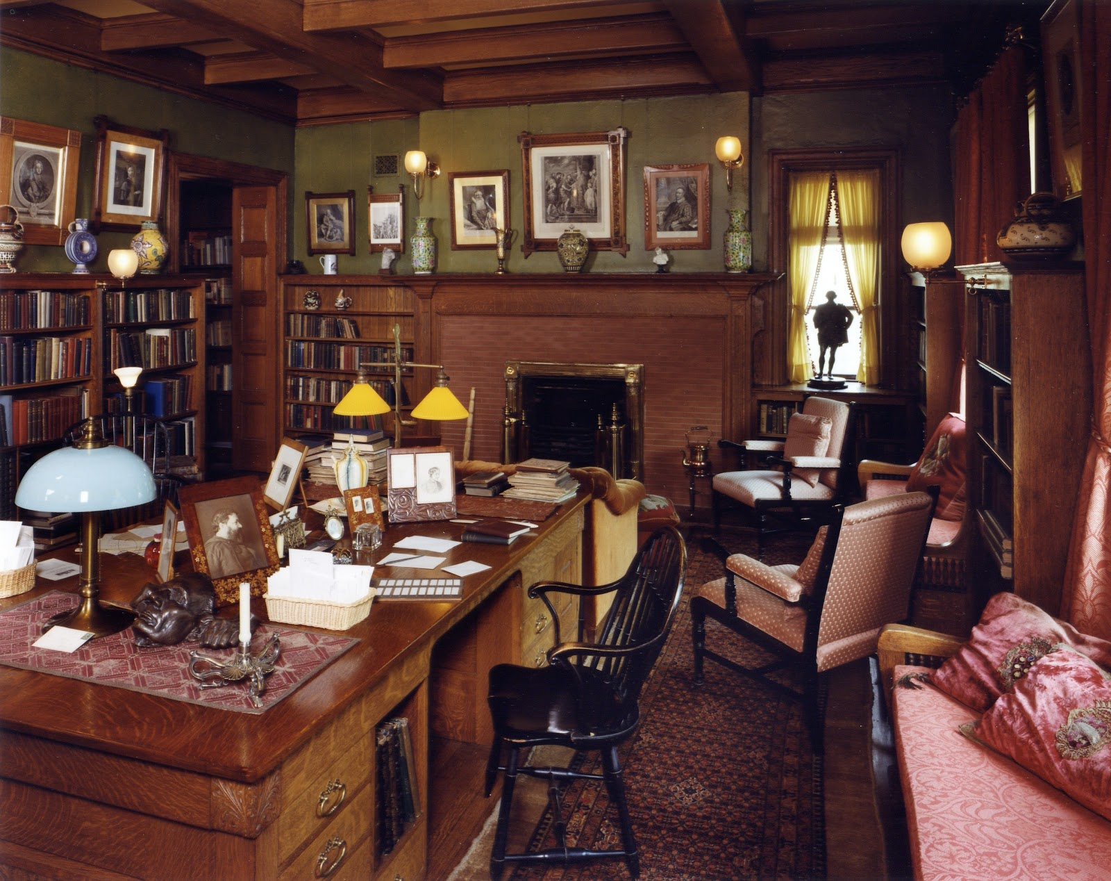 Join me for a tour of glessner house museum wendycity for English library decor