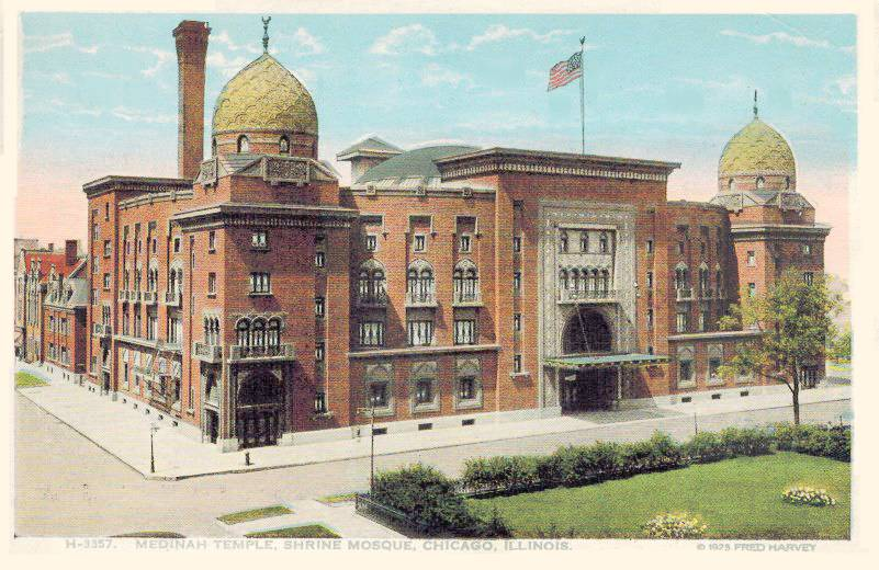 The Tops: Medinah Temple :: Chicago Architecture