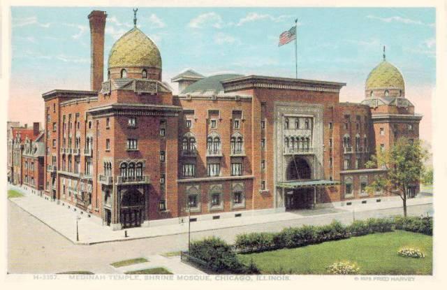 postcard-chicago-medinah-temple-shrine-mosque-aerial-1925