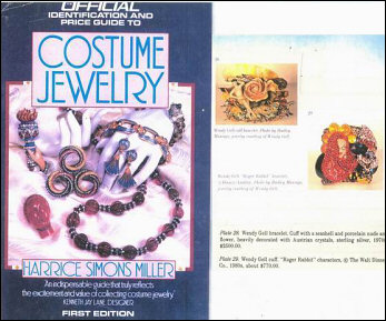 Harrice Miller's classic book on collecting costume jewelry.