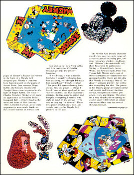 Wendy Gell Disney Jewelry