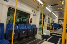 The trains were so clean and quiet
